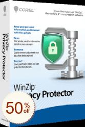 WinZip Privacy Protector割引クーポンコード