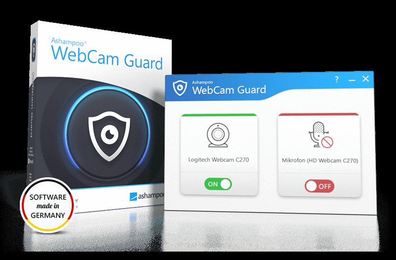 Ashampoo WebCam Guard Screenshot