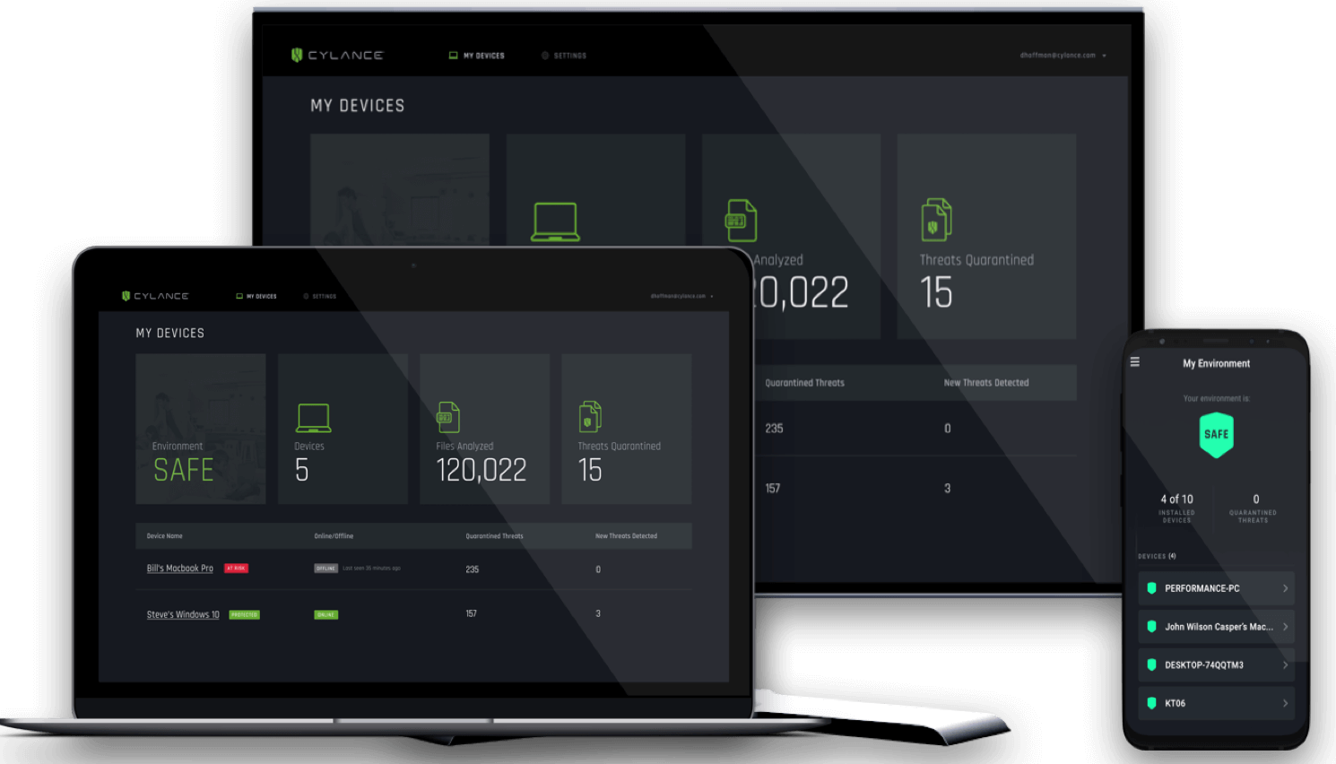 Cylance Smart Antivirus Screenshot
