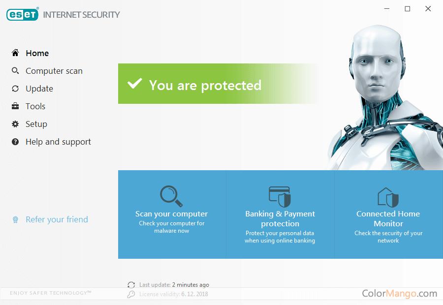 ESET Internet Security Screenshot