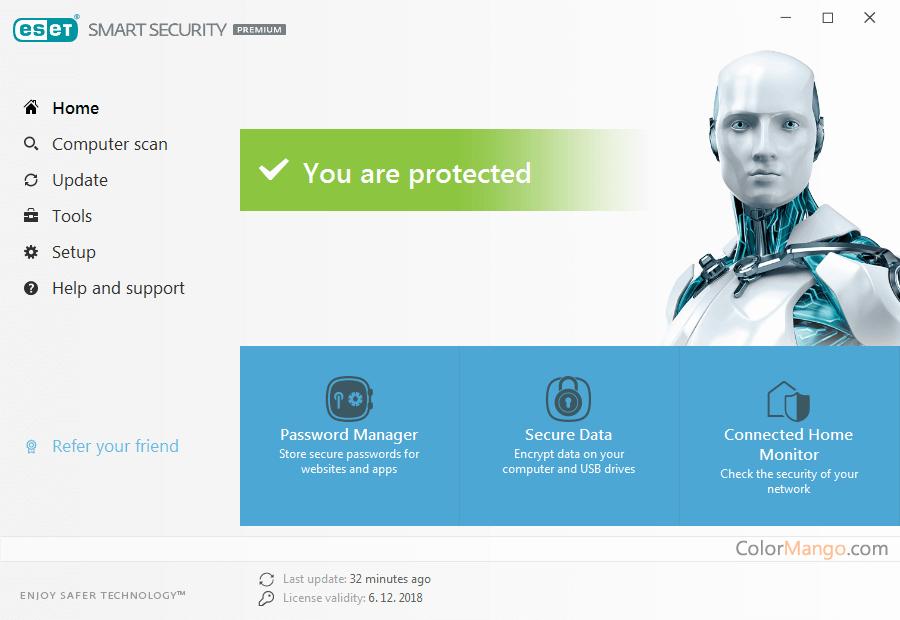 ESET Smart Security Premium Screenshot