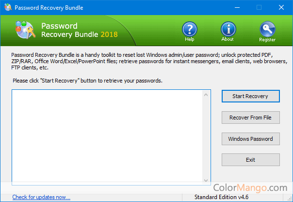 Password Recovery Bundle Screenshot