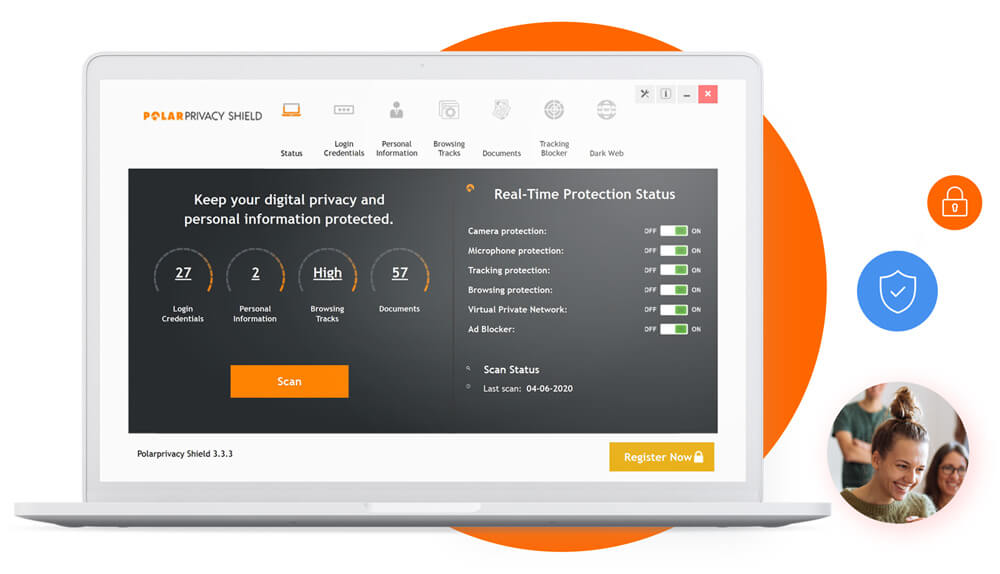 Polarprivacy Shield Screenshot