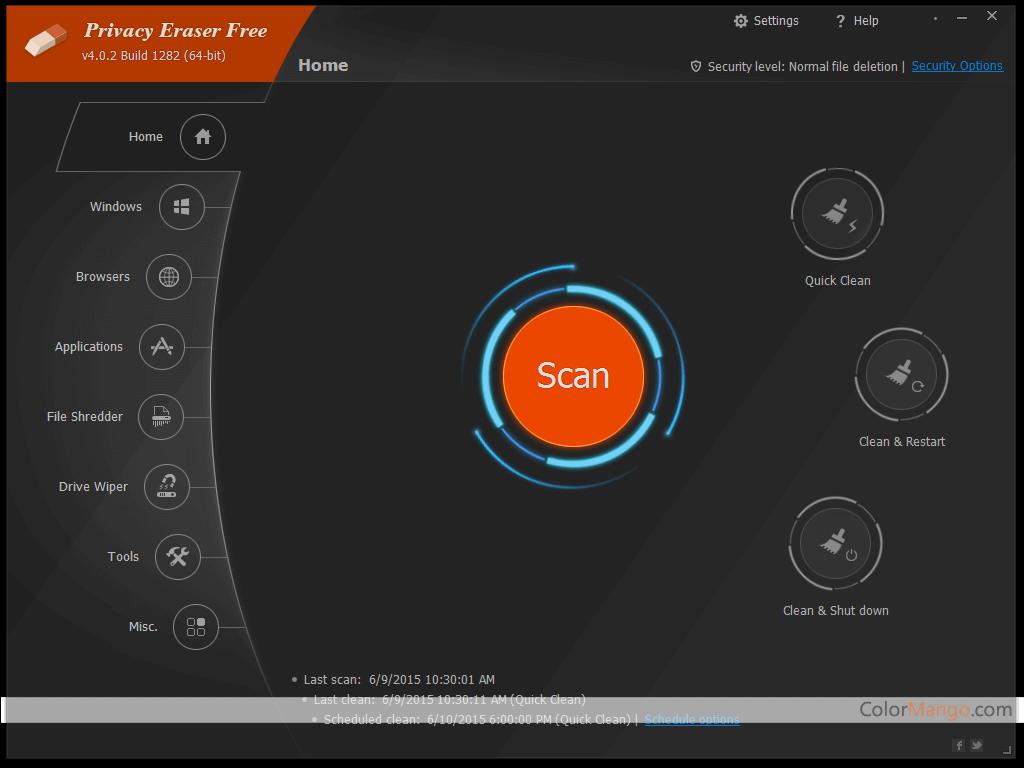 Privacy Eraser Pro Screenshot