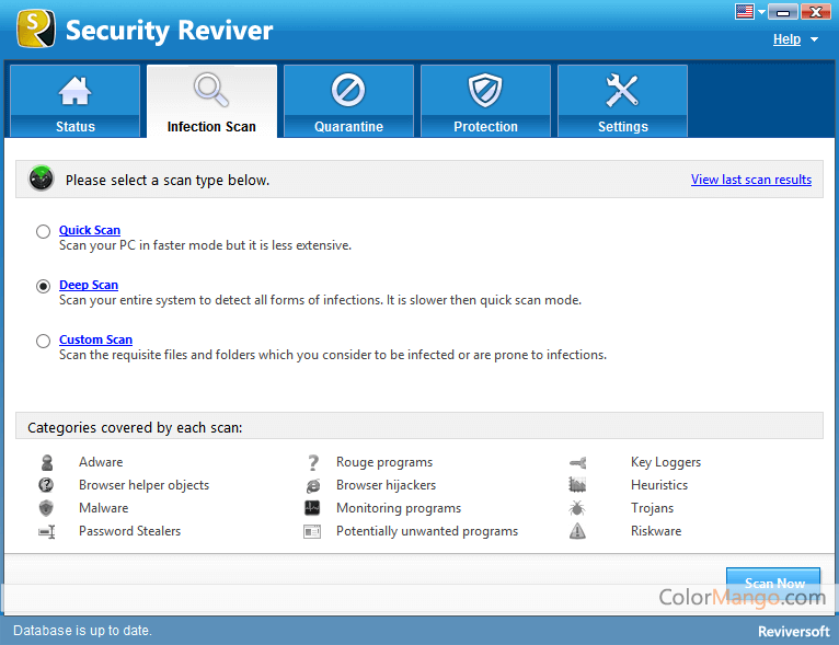 Security Reviver Screenshot