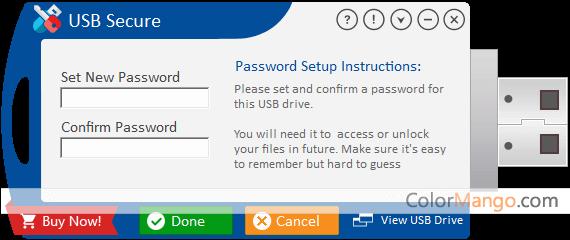 USB Secure Screenshot