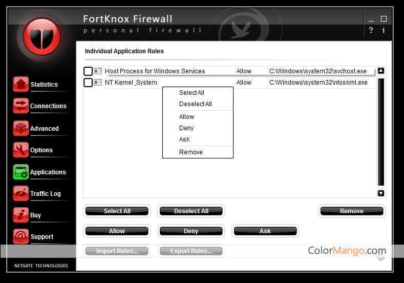 firewall fort knox