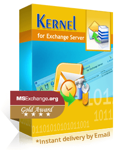 Kernel for Exchange Server Recovery promo code