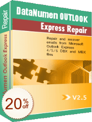 Advanced Outlook Express Repair Discount Coupon