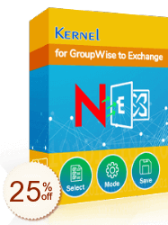 Kernel for GroupWise to Exchange Discount Coupon