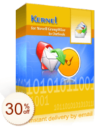 Kernel for GroupWise to Outlook Discount Coupon