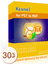 Kernel for PST to NSF Converter Discount Coupon