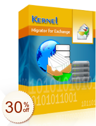 Kernel Migrator for Exchange – Express Edition Discount Coupon