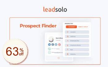 Leadsolo Code coupon de réduction