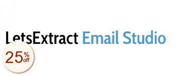 LetsExtract Email Studio Discount Coupon