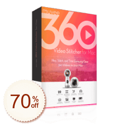 muvee 360 Video Stitcher for Mac Discount Coupon