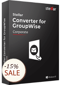Stellar Converter for GroupWise Discount Coupon