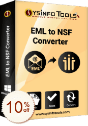 SysInfoTools EML to NSF converter Discount Coupon