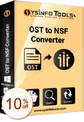 SysInfoTools OST to NSF Converter Discount Coupon