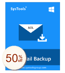 SysTools AOL Backup Discount Coupon
