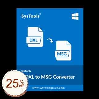 SysTools DXL Converter Discount Coupon