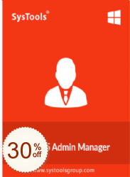 SysTools Office 365 Admin Manager Discount Coupon