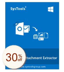 SysTools Outlook Attachment Extractor Discount Coupon