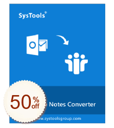 SysTools Outlook to Notes Discount Coupon