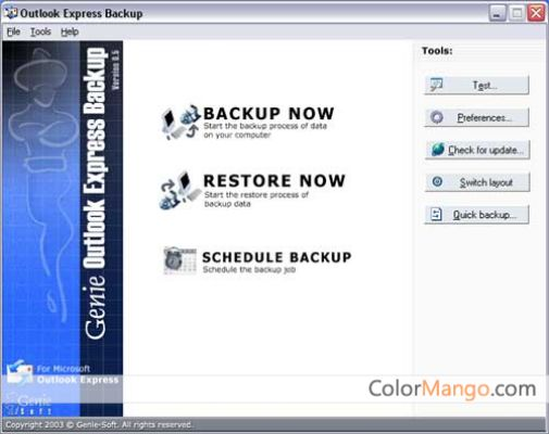 Genie Outlook Express Backup Free Shopping & Review