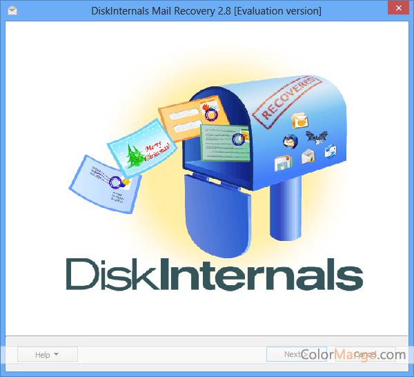 DiskInternals Mail Recovery Screenshot