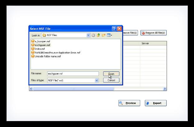 Kernel for Lotus Notes to PDF Screenshot