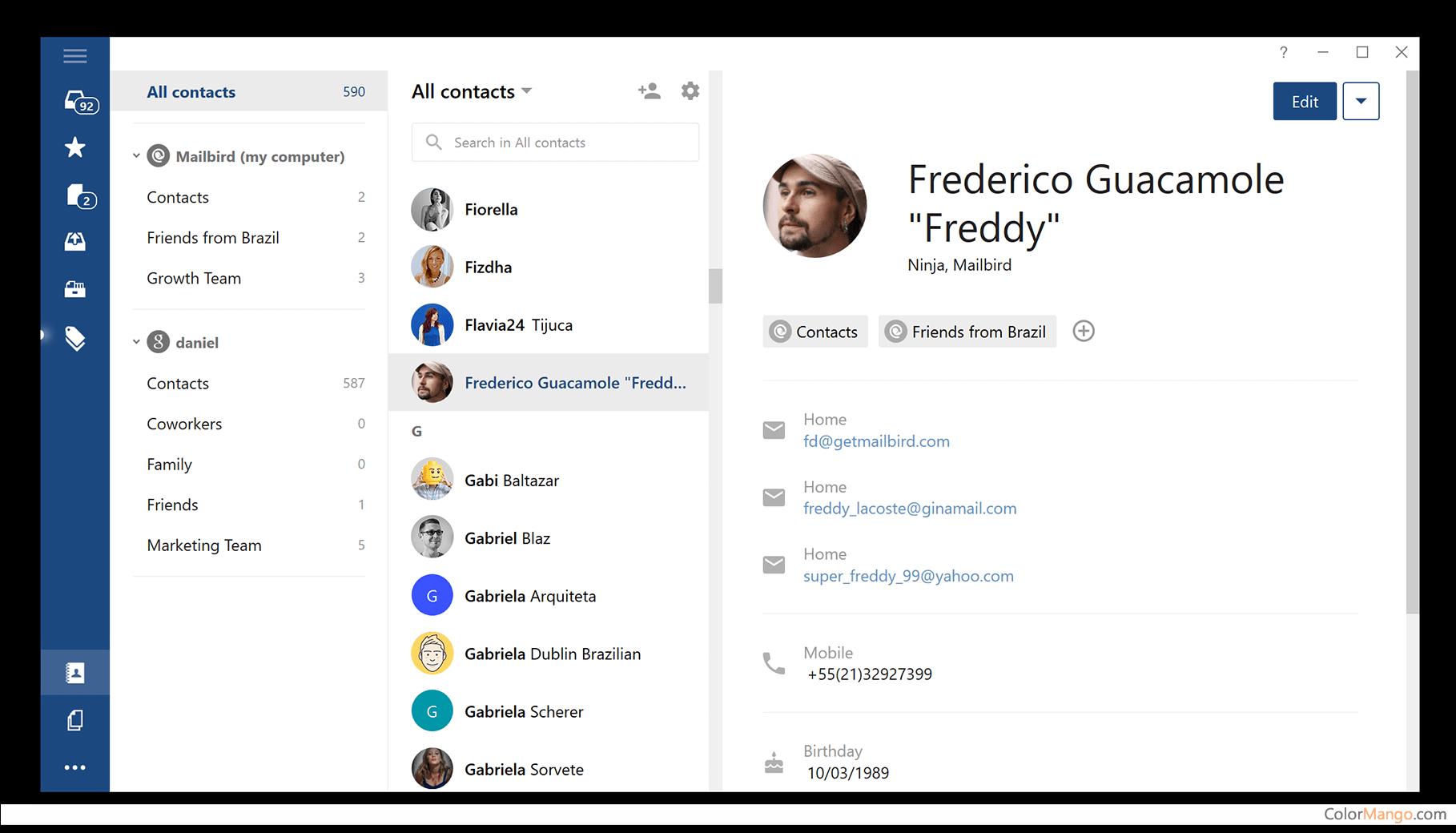 Mailbird Pro Screenshot