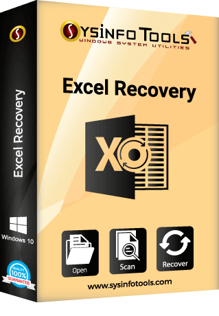 Sysinfo Excel Recovery Boxshot
