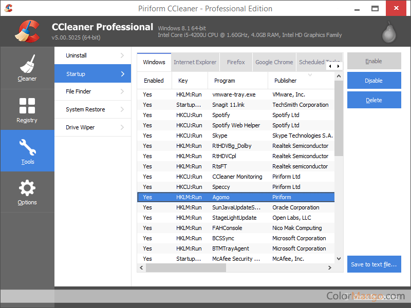 ccleaner pro codes