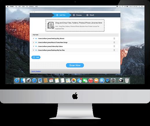 Duplicate Files Fixer Bildschirmfoto