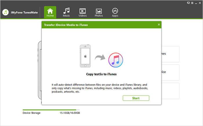 iMyFone TunesMate Capture D'écran
