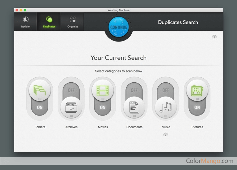 Mac Washing Machine Screenshot