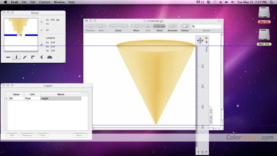 Ondesoft Screen Rulers for Mac Screenshot