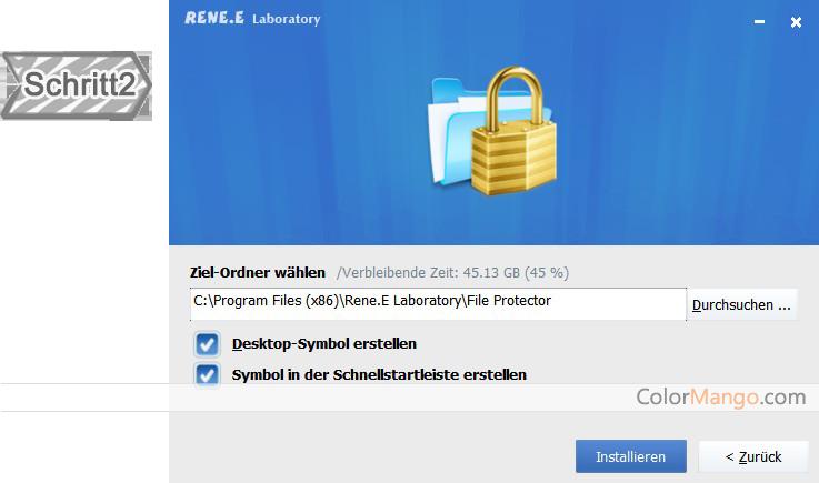 Renee File Protector Bildschirmfoto