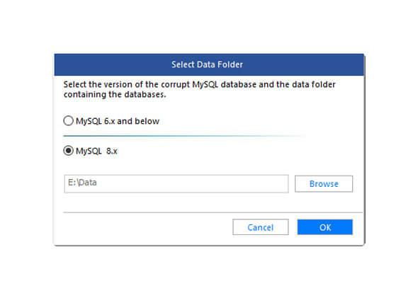 Stellar Repair for MySQL Bildschirmfoto