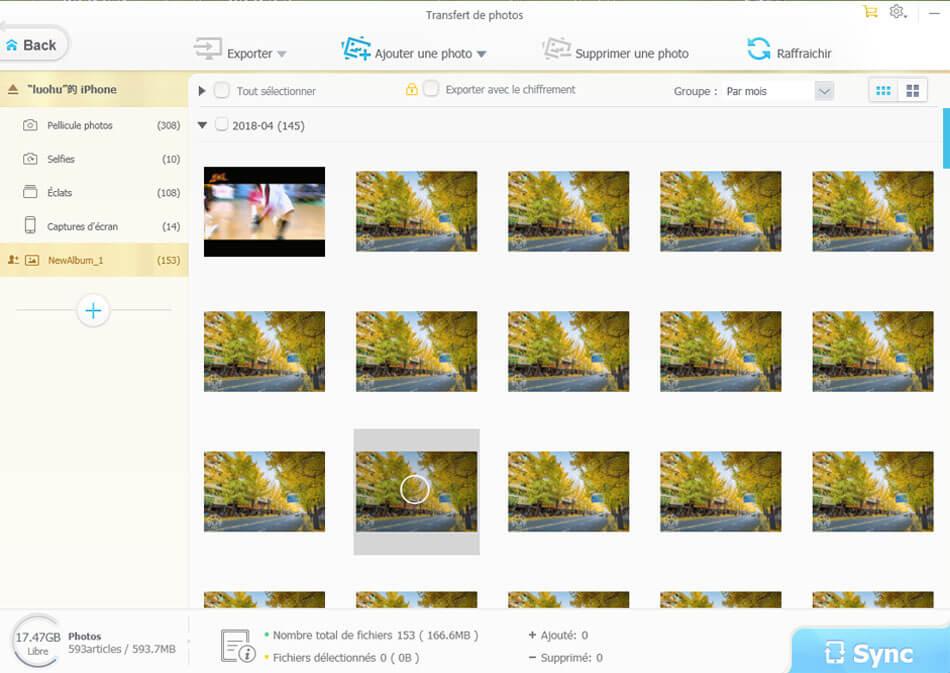 WinX MediaTrans Capture D'écran