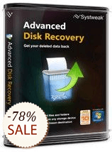 Advanced Disk Recovery Boxshot