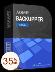 AOMEI Backupper Server Discount Coupon