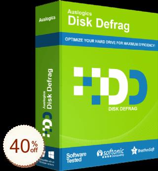 Auslogics Disk Defrag Pro Discount Coupon