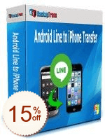 Backuptrans Android Line to iPhone Transfer Discount Coupon