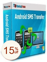 Backuptrans Android SMS Transfer Discount Coupon