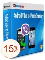 Backuptrans Android Viber to iPhone Transfer Discount Coupon