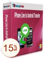 Backuptrans iPhone Line to Android Transfer Discount Coupon