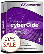 CyberScrub cyberCide Discount Coupon