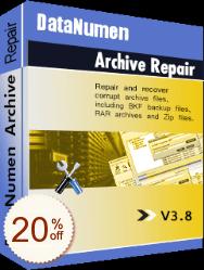 DataNumen Archive Repair Discount Coupon